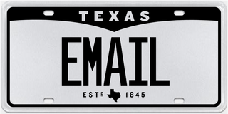 Email License Plate